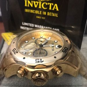 INVICTA  MEN LUXURY WATCH